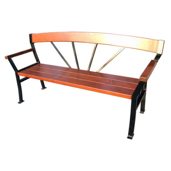 Скамейка солнечная